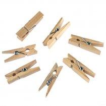 Прищепка деревянная, 3,5 см, 2 штуки
