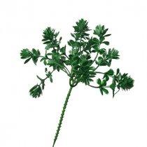 """Искусственная зелень """"Каменный цветок"""" пика, 20 см"""