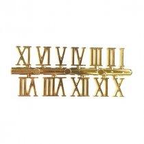 """Цифры для часов """"Римские"""", 1,8 см, цвет золото"""