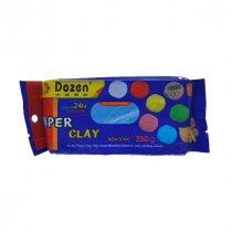 Самозатвердевающая пластика ''Dozen'', цвет синий,  250 г