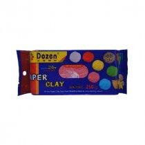 Самозатвердевающая пластика ''Dozen'', цвет красный,  250 г
