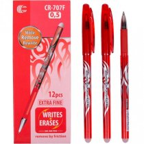 """Гелевая ручка """"Пиши-стирай"""" 0,5 мм А-6, цвет красный"""
