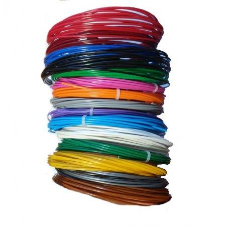 Набор стержней для 3D ручки 1,75 мм, 15 цветов по 5 м