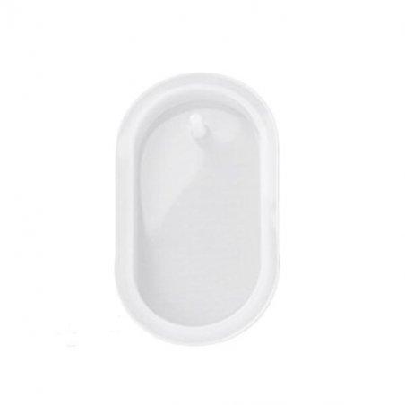 Силиконовая форма для воскового саше Овал, 3,5х6,8 см, 1 штука