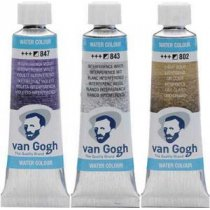 Акварельная краска Van Gogh (843) Интерферентный белый,туба 10 мл, Royal Talens