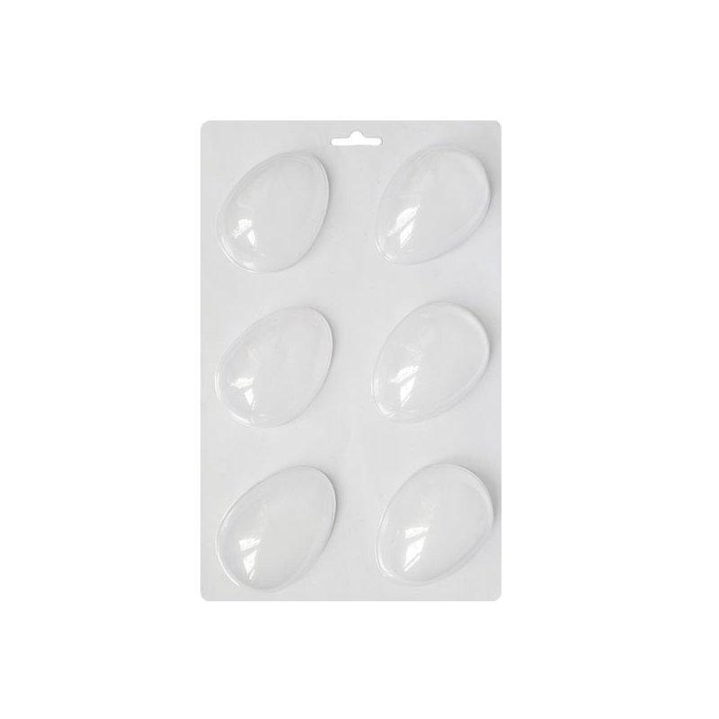 Пластиковая форма для мыла Яйцо Киндер, 14х23 см, С6-061