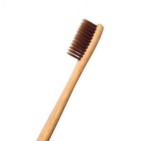 """Бамбукова зубная щетка """"Eco brown"""", 18 см"""