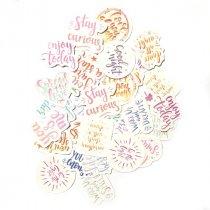 """Мини-стикеры (наклейки) """"Love you always"""" (46 шт)"""