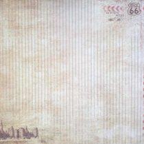 "Лист односторонней бумаги 30x30 ""Драйв"" из коллекции Мистер Винтаж,  190г/м2, 1 лист"