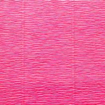 Креп-бумага (гофро-бумага) Cartotecnica Rossi,180г/м², 50смх2,5м, №551 Ярко-розовый