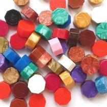 Сургучная восковая мини-таблетка 10х5мм, цвет микс (10 штук)