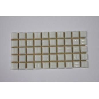 Мозаика стеклянная Серая с вкраплением Х21,1х1 см.