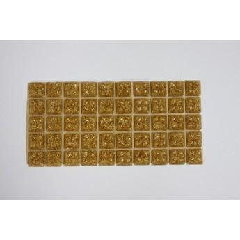 Мозаика стеклянная Серо-голубая с вкраплением Х021,1х1 см.