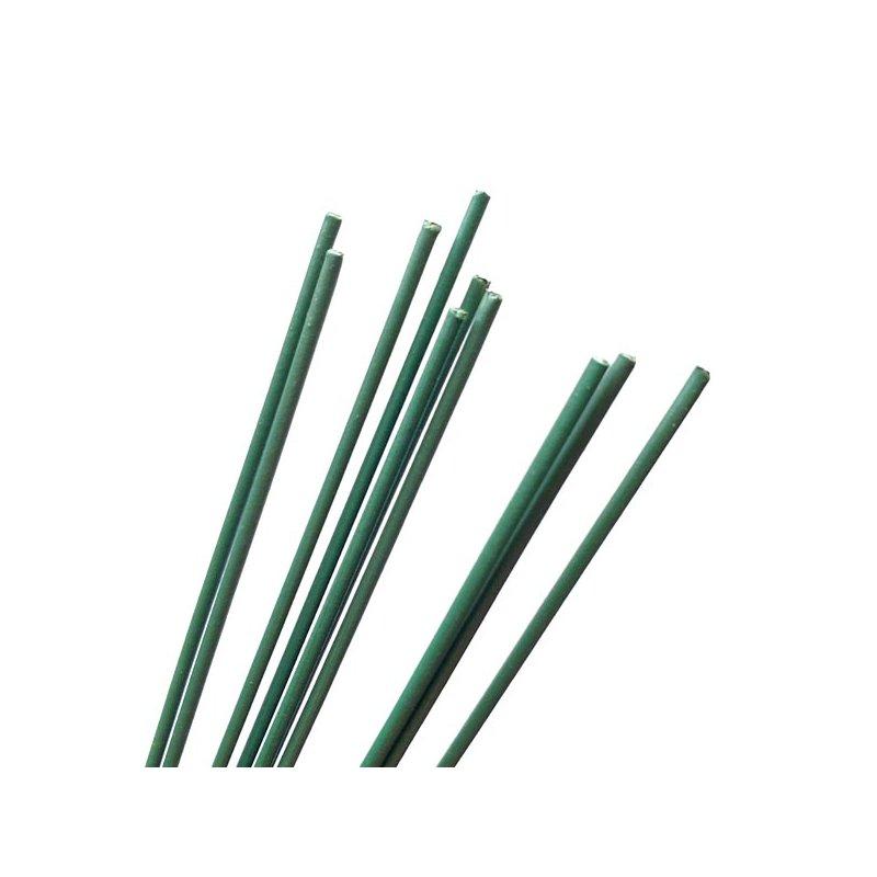 Дріт для стовбурів зелений, діаметр - 2 мм, 10 штук