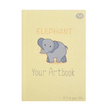 """Блокнот 2385 """"Artbook Elephant"""" А6, 48 листов"""