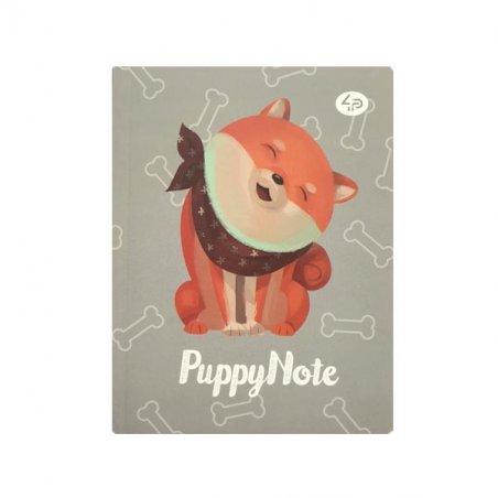 """Блокнот 3016 """"Artbook Puppy Note"""" grey А6, 40 листов"""