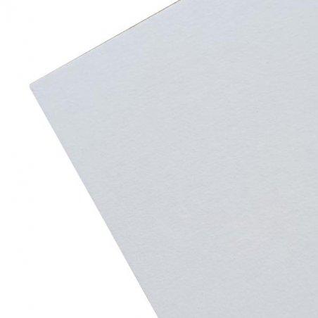 Картон хром-эрзац 23*32 см, 410 г/м2, 0,6 мм, цвет белый, 5 штук