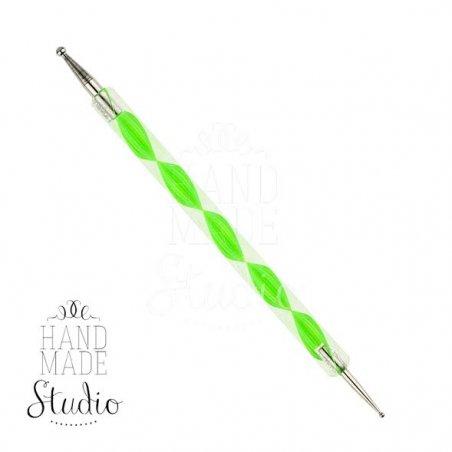 Набор металлических дотсов со спиральной ручкой, 5 штук