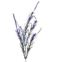 Искусственная зелень Куст розмарина фиолетовый, 28 см