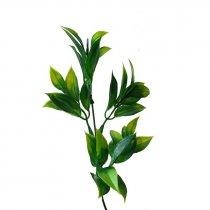 Искусственная зелень Куст салатово-зеленый, 24 см