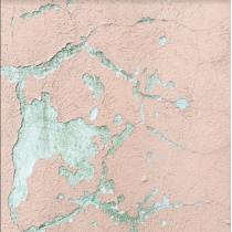 Виниловый безбликовый фотофон Стена №26, 50*50 см