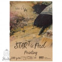 Склейка STAR T (mixed media) SMILTAINIS, А5, 300г/м2, 20л
