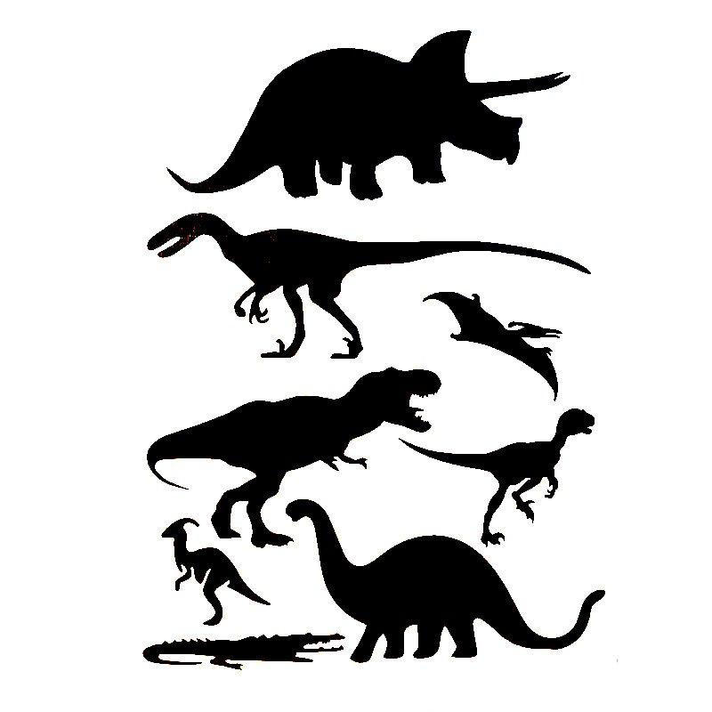 Универсальный трафарет Динозавры, 29,5х21 см
