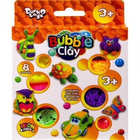 """Набор для творчества """"BUBBLE CLAY"""", 8 цветов"""