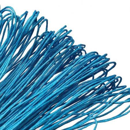 Вощеная нить, цвет лазурный, 1 мм, 5 м