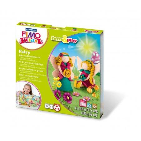 """Набор полимерной глины FIMO Kids Form & Play """"Фея"""" 8034 20"""