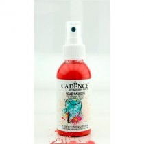 Краска-спрей для ткани CADENCE Your Fashion Spray Fabric Paint, 100 мл, скарлет