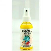 Краска-спрей для ткани CADENCE Your Fashion Spray Fabric Paint, 100 мл, лимонный