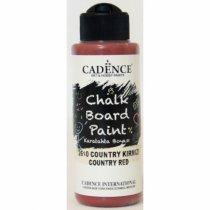 Акриловая краска для меловых досок Cadence Chalkboard Paint, 120 мл, цвет 2610 бордо