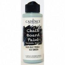 Акриловая краска для меловых досок Cadence Chalkboard Paint, 120 мл, цвет 2620 мятный