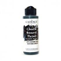 Акриловая краска для меловых досок Cadence Chalkboard Paint, 120 мл, цвет 2570 зеленый