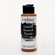 Акриловая краска для меловых досок Cadence Chalkboard Paint, 120 мл, цвет 2540 терракотовый