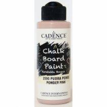 Акриловая краска для меловых досок Cadence Chalkboard Paint, 120 мл, цвет 2590 нежно розовый