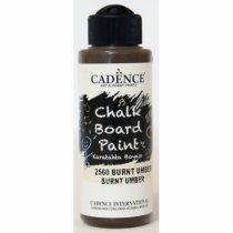 Акриловая краска для меловых досок Cadence Chalkboard Paint, 120 мл, цвет 2560 умбра