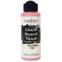 Акриловая краска для меловых досок Cadence Chalkboard Paint, 120 мл, цвет 2500 розовый