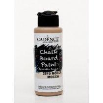Акриловая краска для меловых досок Cadence Chalkboard Paint, 120 мл, цвет 2510 мокко