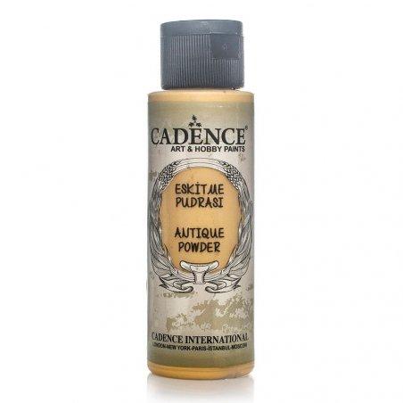 Патина водная, рельефная Cadence Antique Powder, 70 мл, цвет желтый оксид