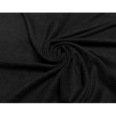 Ткань флис, 28х40 см, цвет черный