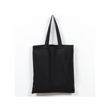 Заготовка для декорирования эко сумка (саржа), цвет черный, 38х42 см