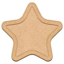 Артборд Звезда, 29х30 см (037)
