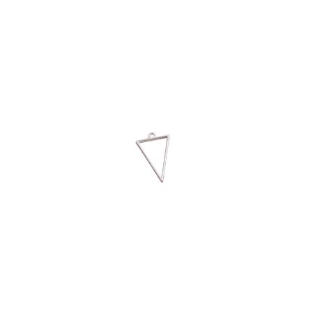 """Рамка (сеттинг) под заливку эпоксидной смолой """"Геометрическая фигура"""" №1 (сталь), 1,8х3,7 см"""