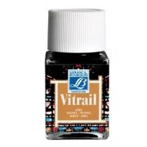 Витражная краска Lefranc Vitrail, 50 мл, №145 Honey (медовый)