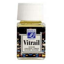 Витражная краска Lefranc Vitrail, 50 мл, №010 Colourless (бесцветный)