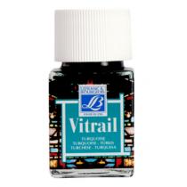 Витражная краска Lefranc Vitrail, 50 мл, №050 Turquoise blue (бирюзовый)