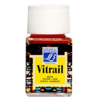 Витражная краска Lefranc Vitrail, 50 мл, №199 Yellow (желтый)