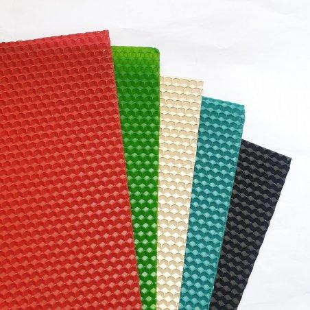 Набор цветной вощины (основные цвета), 20х26 см (5 штук)